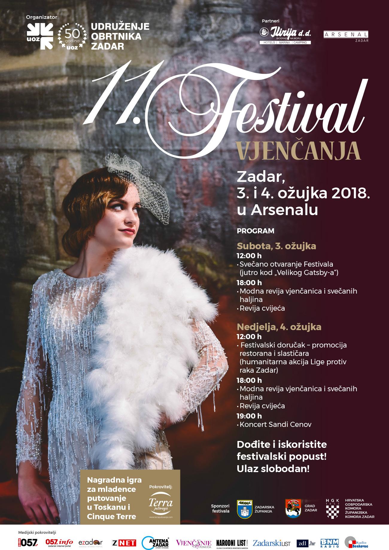 Festival vjenčanja Zadar 2018