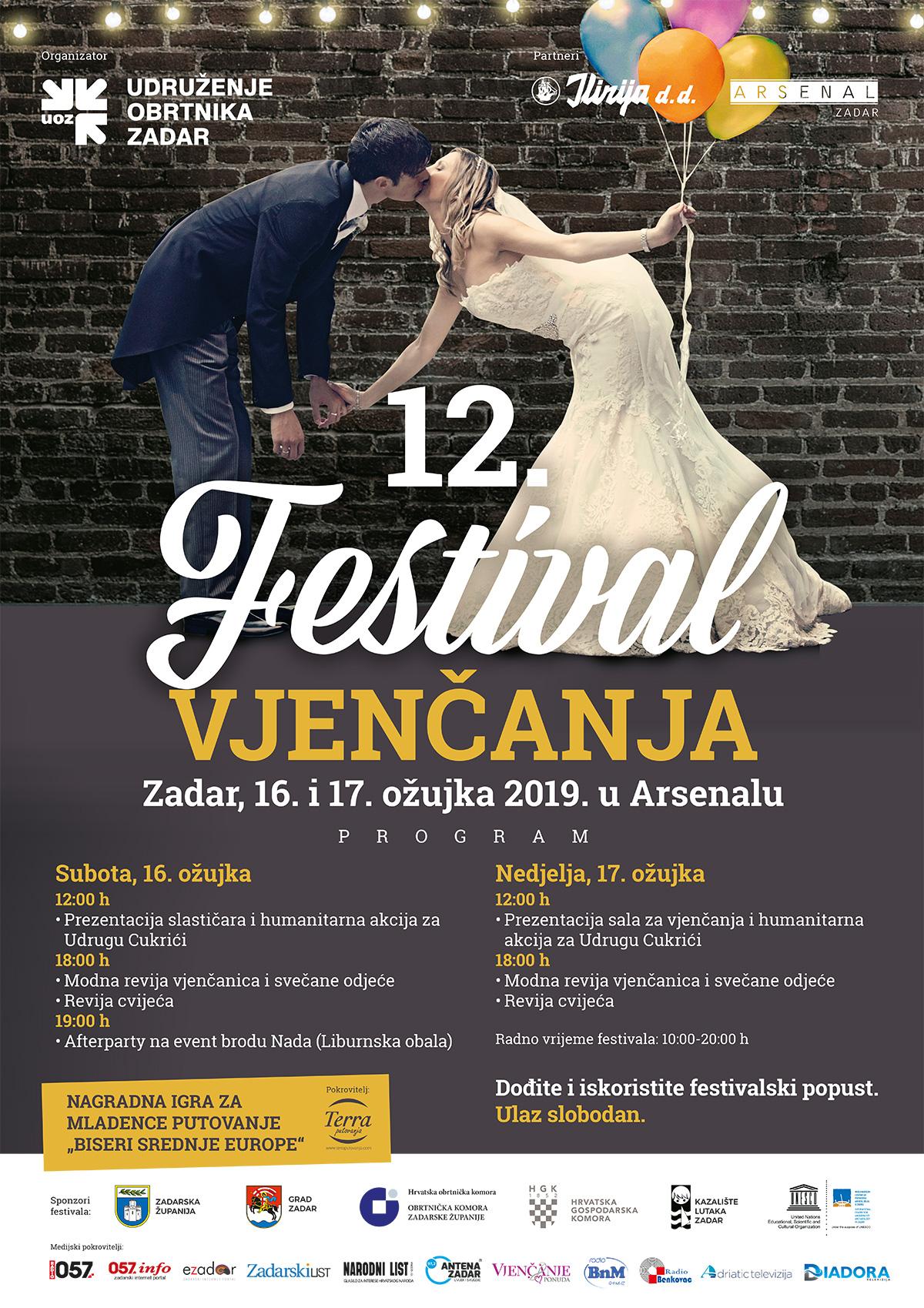Festival vjenčanja Zadar